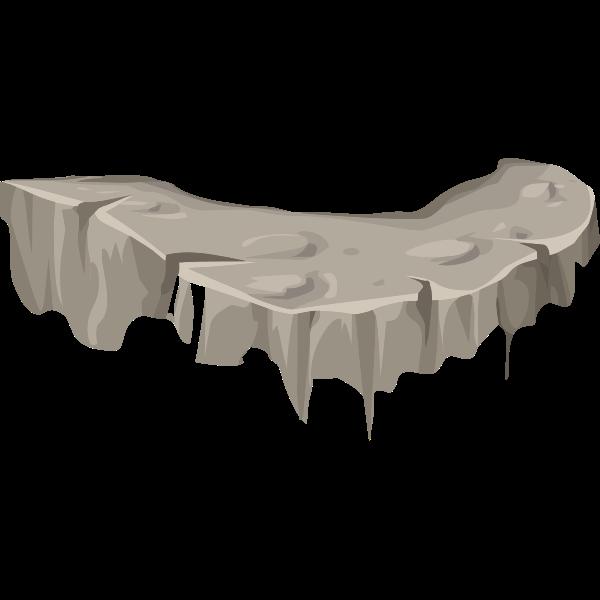 alpine landscape cliff face plat 01b al1