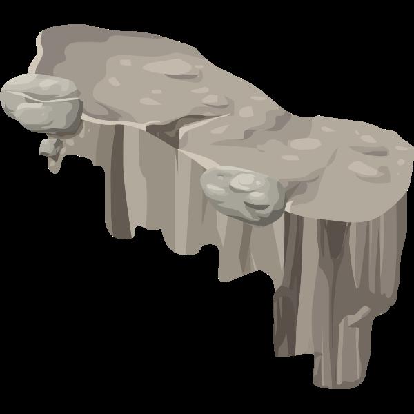 alpine landscape platform horizontal ledge corner right dip 01a al1