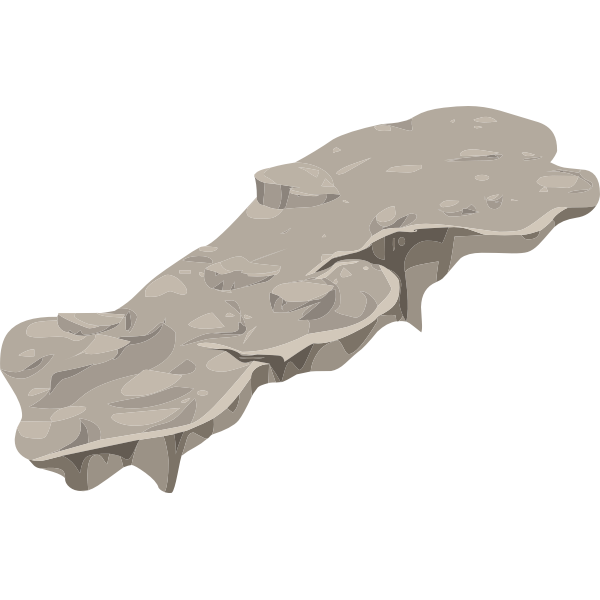 Big stone platform