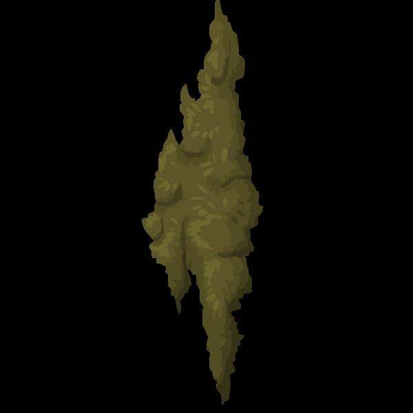 Moss vector clip art
