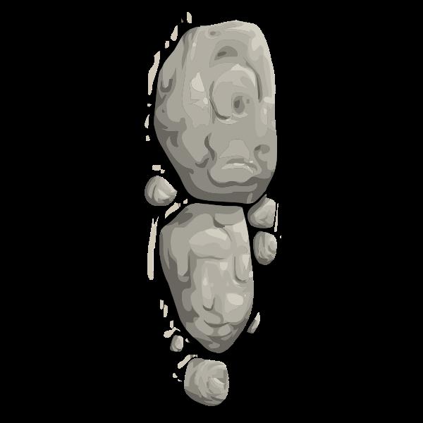Alpine boulders