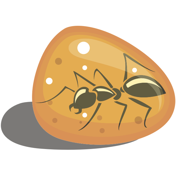 Ant in amber-1576590613