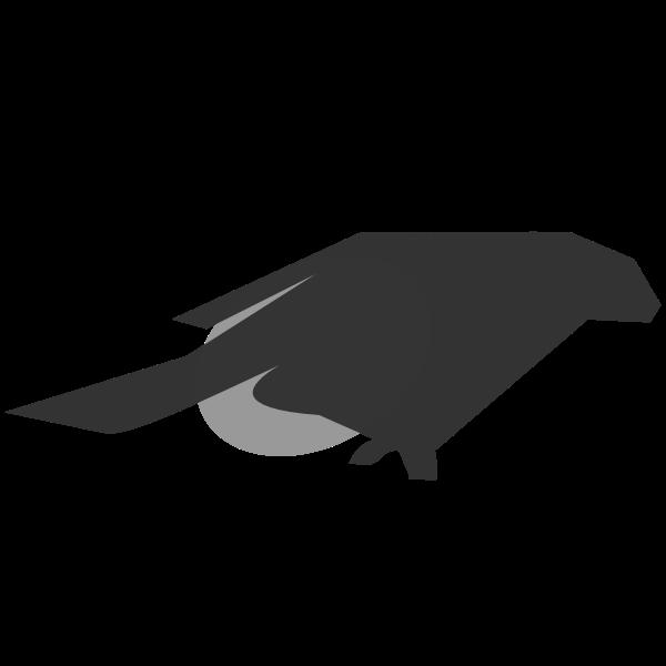 Blackbird silhouette clip art