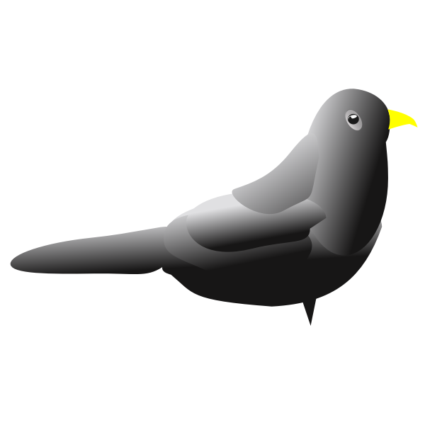 Blackbird clip art