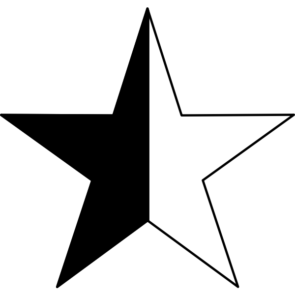 Vector clip art of Anarcho-pacifism symbol