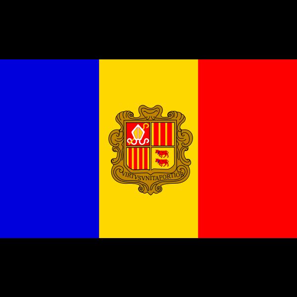Flag of the Republic of Andorra