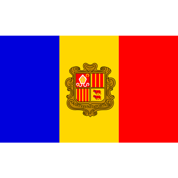 Flag of the Republic of Andorra