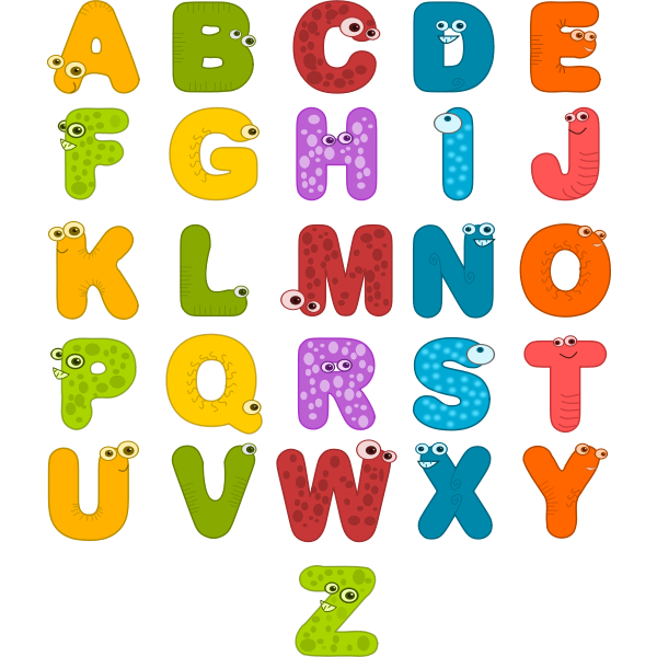 Animal Alphabets Vector