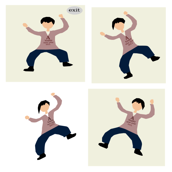 Dancing cycle