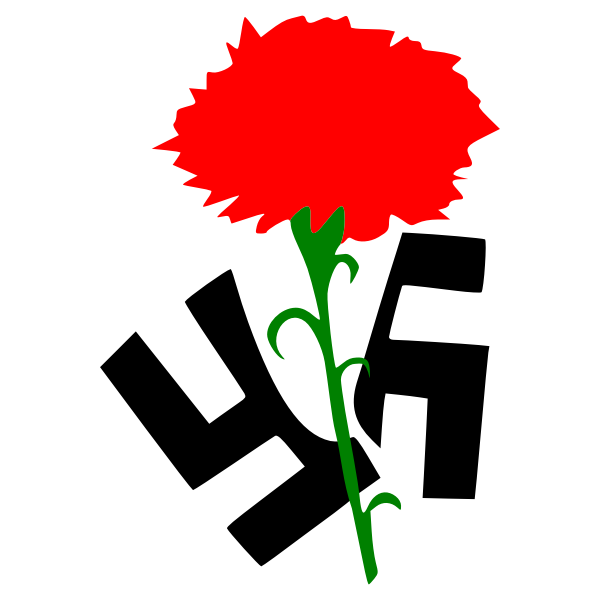 Antifascist carnation
