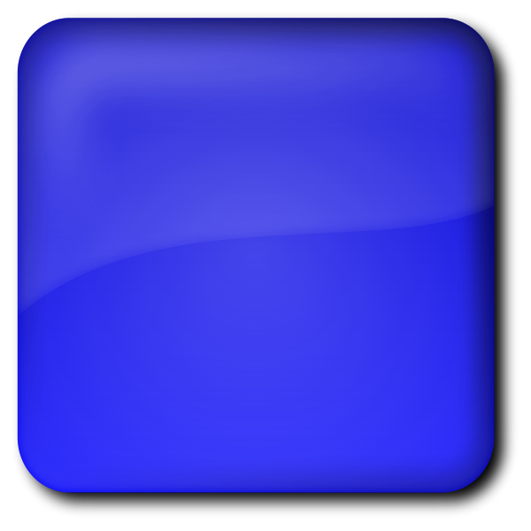 Vector drawing of blue computer button