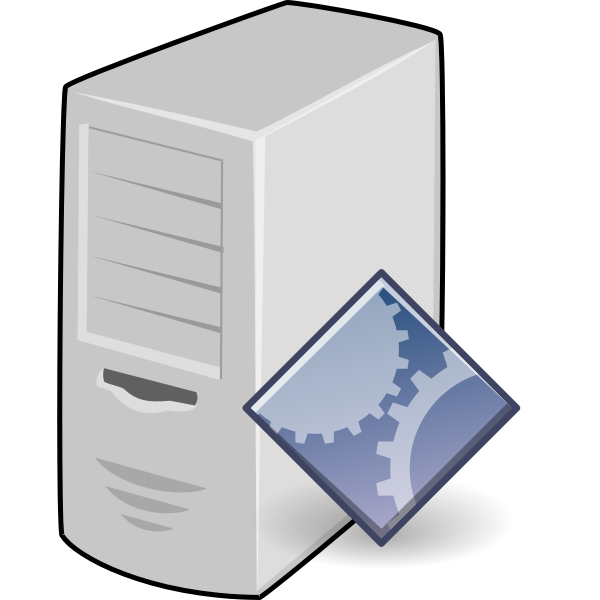 Application server vector drawing