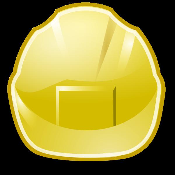 Simple yellow symbol