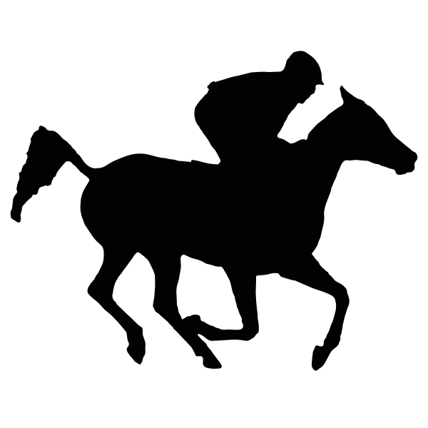 Arabian racehorse