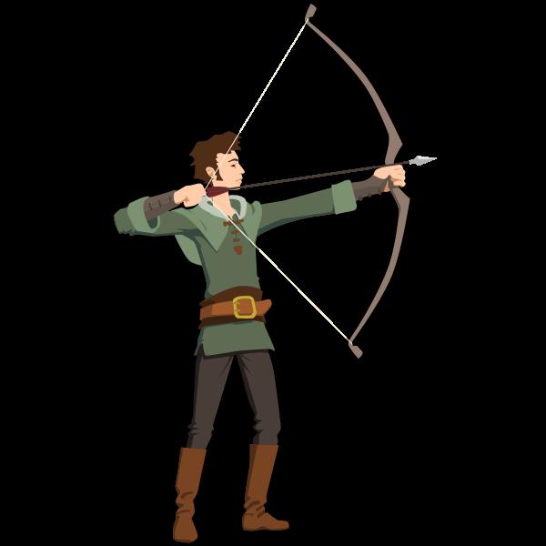 Archer vector illustration
