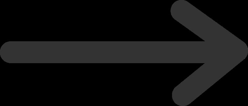 Right facing purple arrow vector image