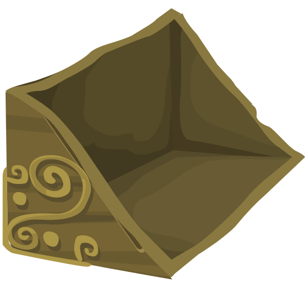 Carved artifact