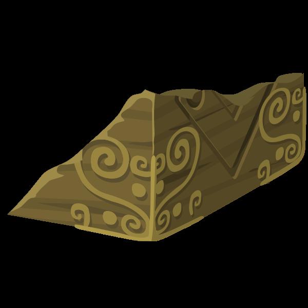 Cube piece