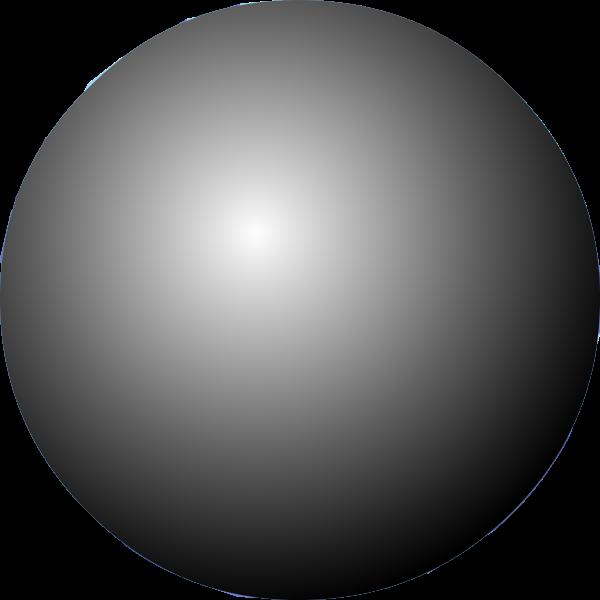 Gray pearl vector image
