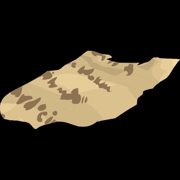 artifact torn manuscript piece3