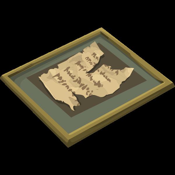 artifact torn manuscript