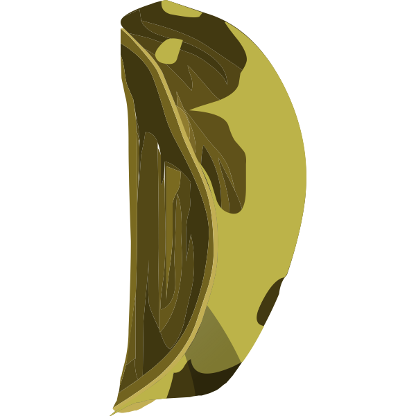 artifact wooden apple piece4