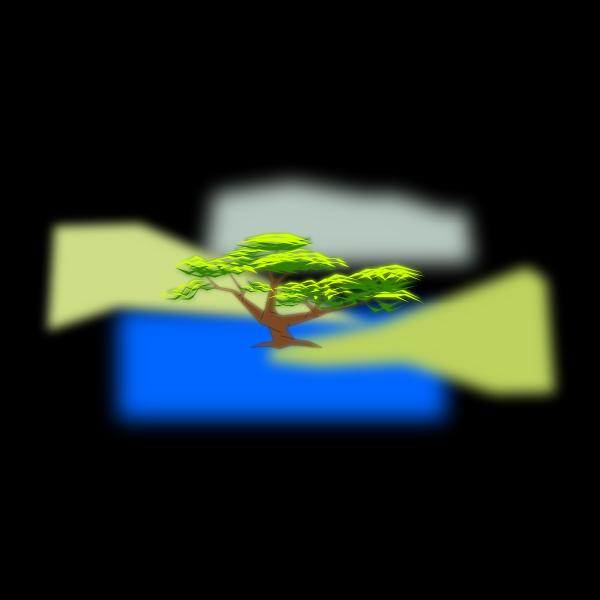 tree composition of luminosity