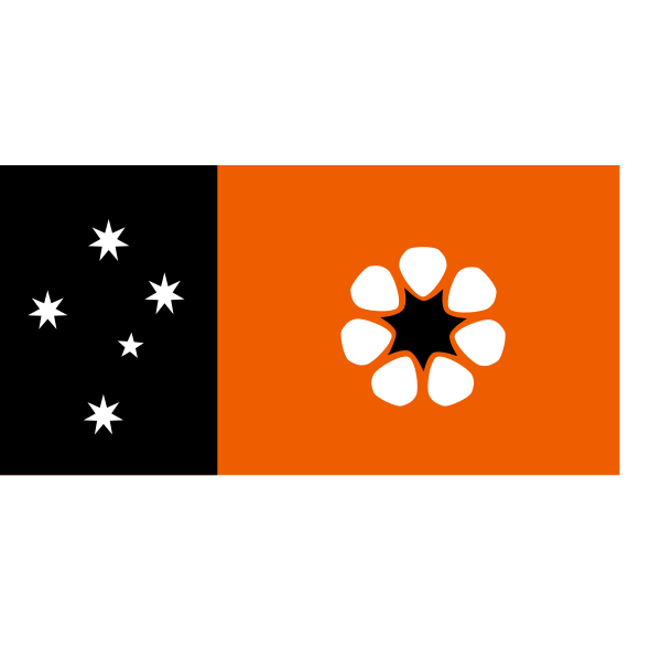 The Northern Territory flag vector graphics