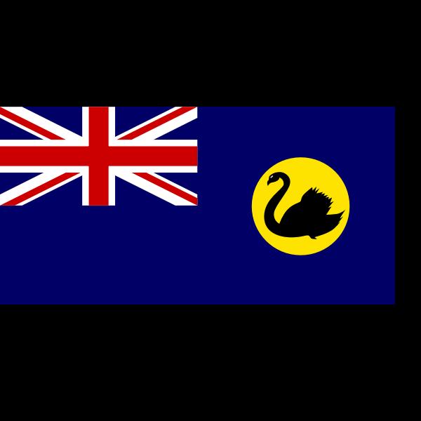 Flag of South Australia vector image
