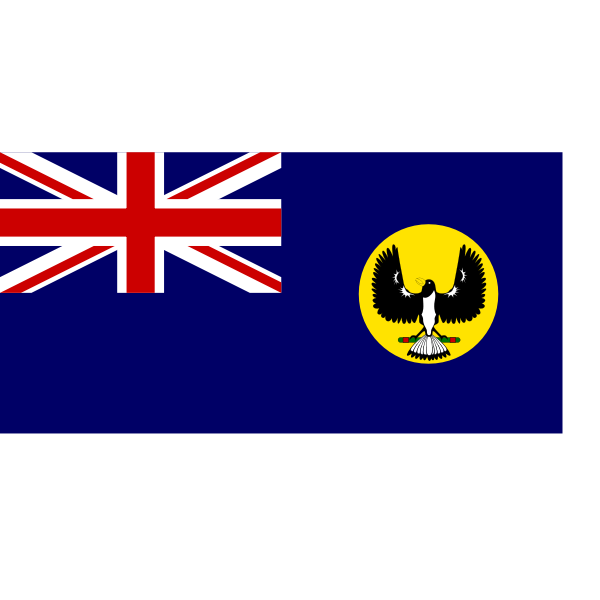 Vector clip art of flag of Western Australia