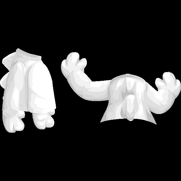 avatar wardrobe coat Mini dino top