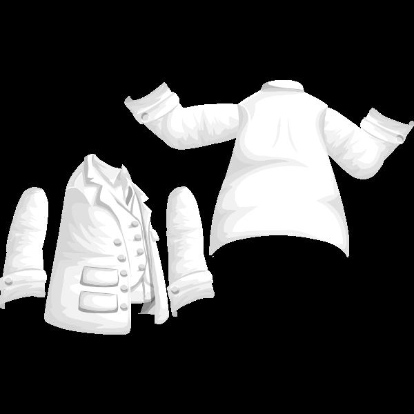 avatar wardrobe coat jacket with vest