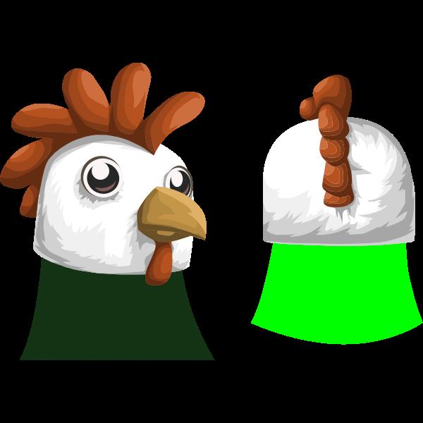 avatar wardrobe hat GlitchamaphoneChickenMask