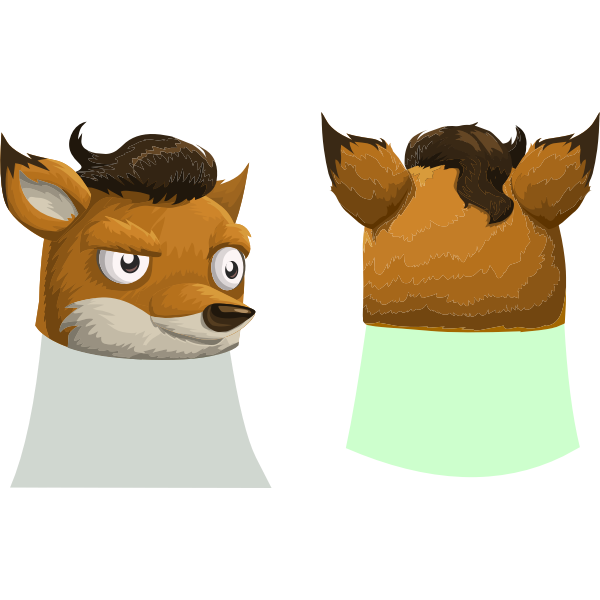 avatar wardrobe hat GlitchamaphoneFoxMask
