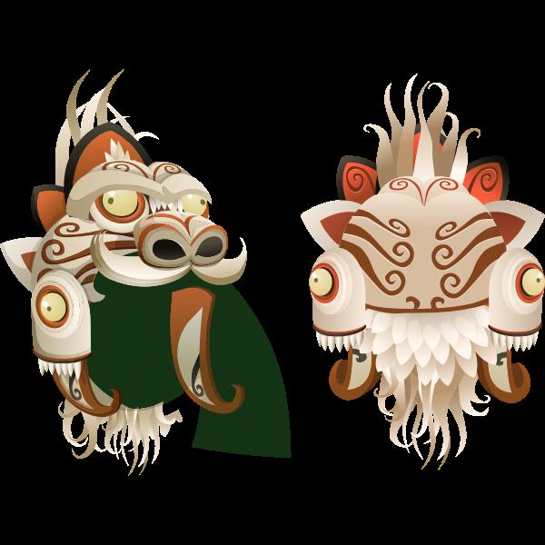 Avatar Wardrobe Hat Alph Mask