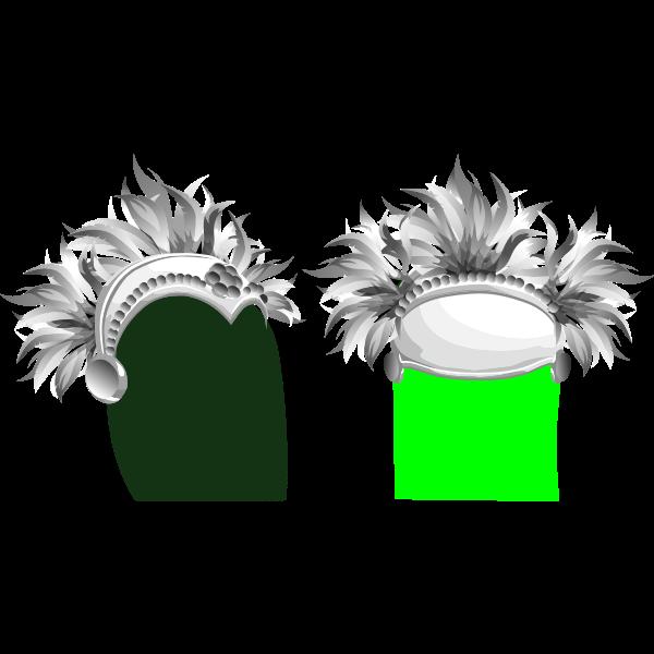 avatar wardrobe hat brazil carnival hat