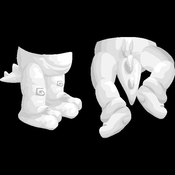 avatar wardrobe pants Mini dino pants
