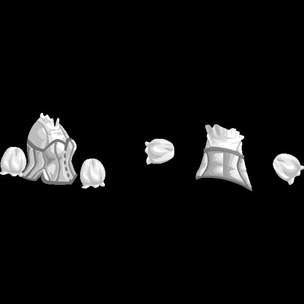 Vector illustration of female shirt for avatar