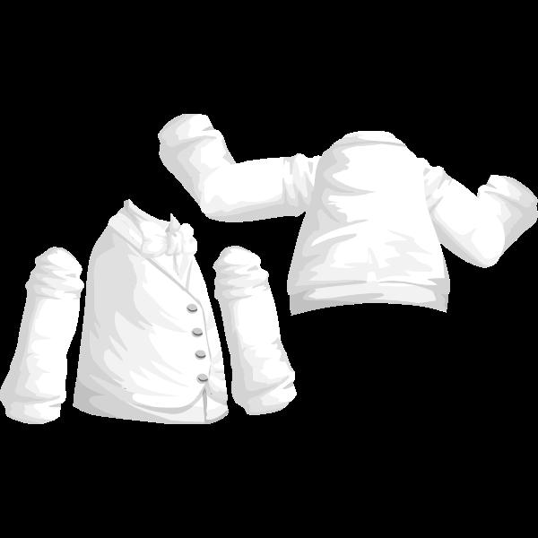 avatar wardrobe shirt vest with bowtie