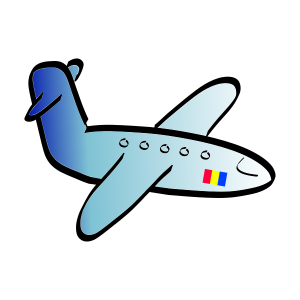 Aeroplane vector art