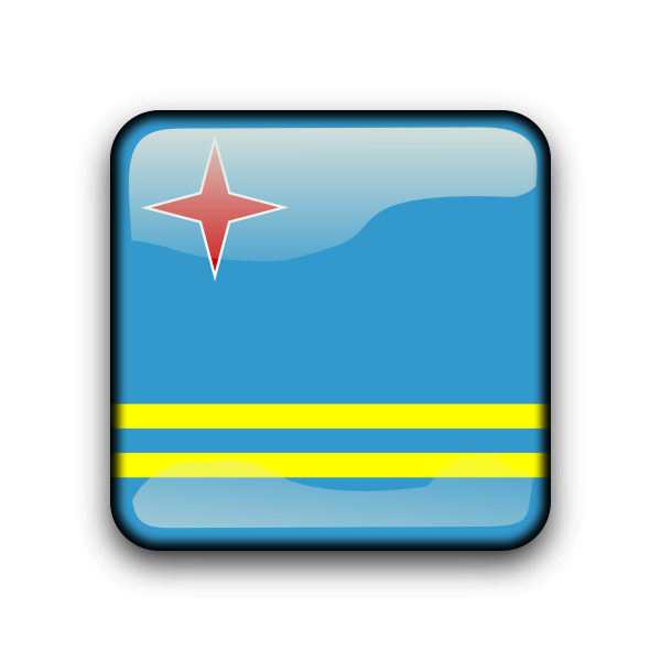 Aruba vector flag