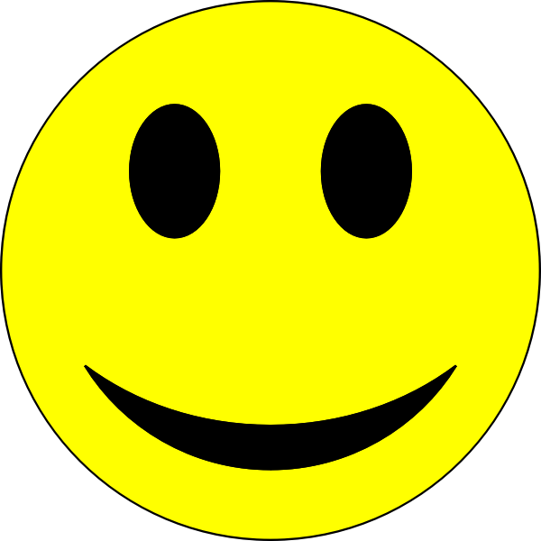 Smiley - Yellow and Black