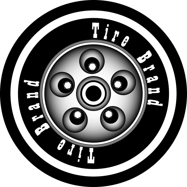 Tire with rim.