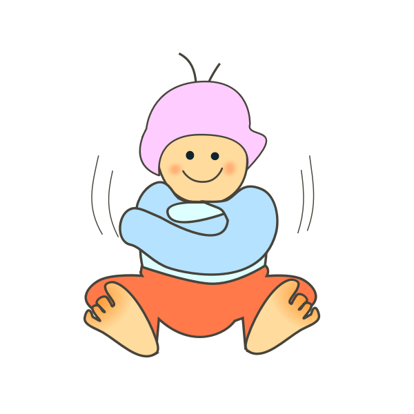 Baby vector graphics