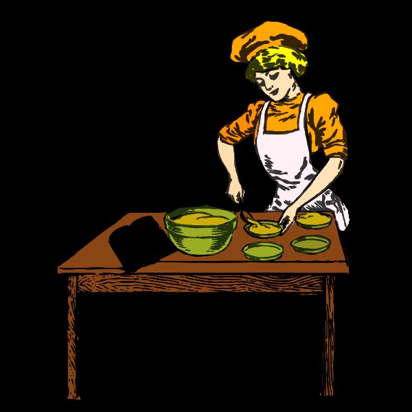 Baker in color