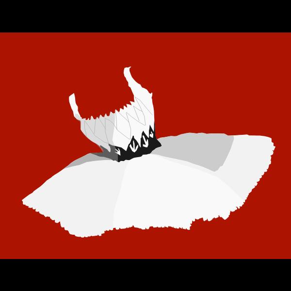 Ballet dress vector illustration