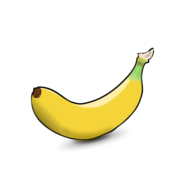 Banana fruit clip art graphics