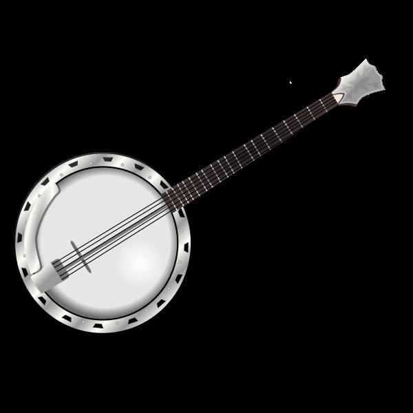 Banjo chordophone vector illustration
