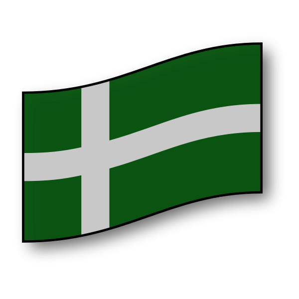 Flag of the island of Barra