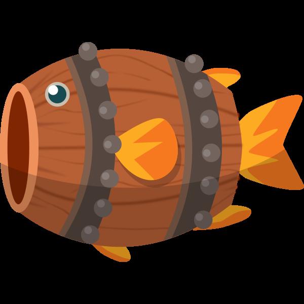 Barrel fish image
